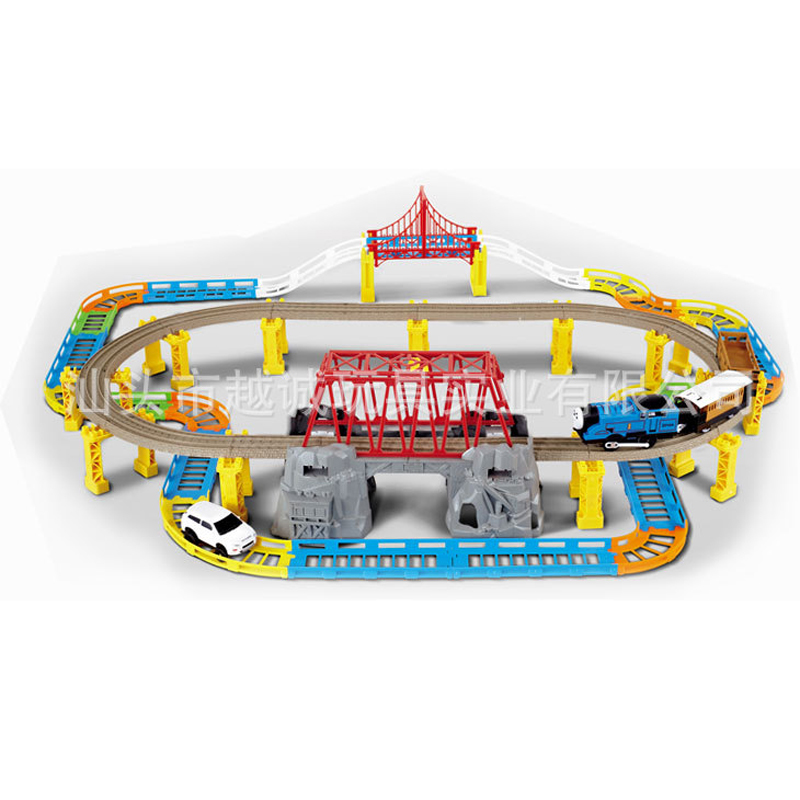 YC-2017C Electric Thomas Train With Multi-Storey Track Children'S Toys
